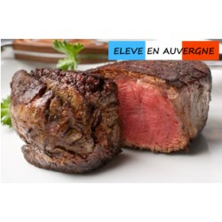 Filet de bison en tournedos 100% Français