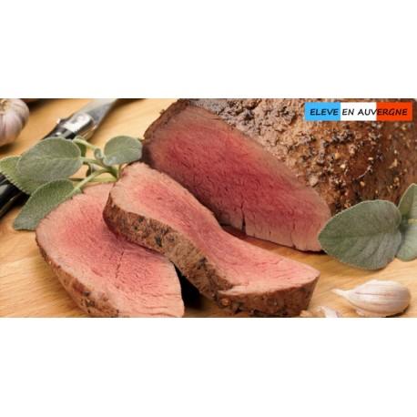 Filet en rôti de bison