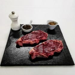 Steaks de Faux-filet de bison -dernière minute